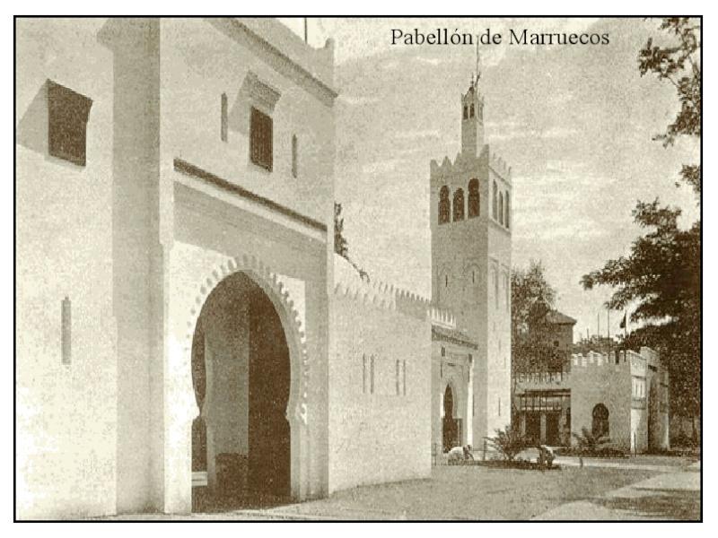 SEVILLA: Mezquita al Pabellón de Marruecos Pabell10