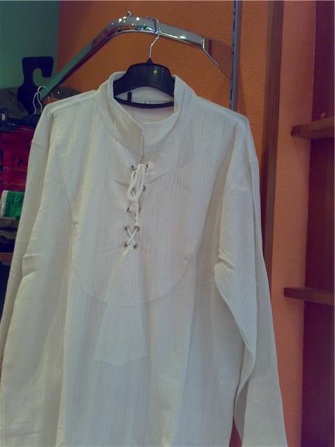 """camisa estilo medieval """"mujer"""" a buen precio. Getatt10"""