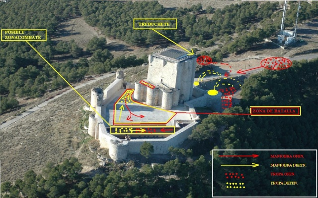ISCAR 2010 El Maestro el aprendiz y el Asedio al Castillo. Planin10
