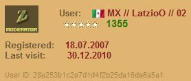 Nueva Moderación en las salas Mexicanas Lat10