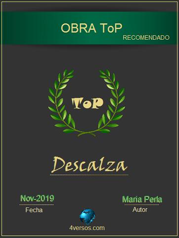Descalza.  --► ToP -XI- MMXIX Topmp10