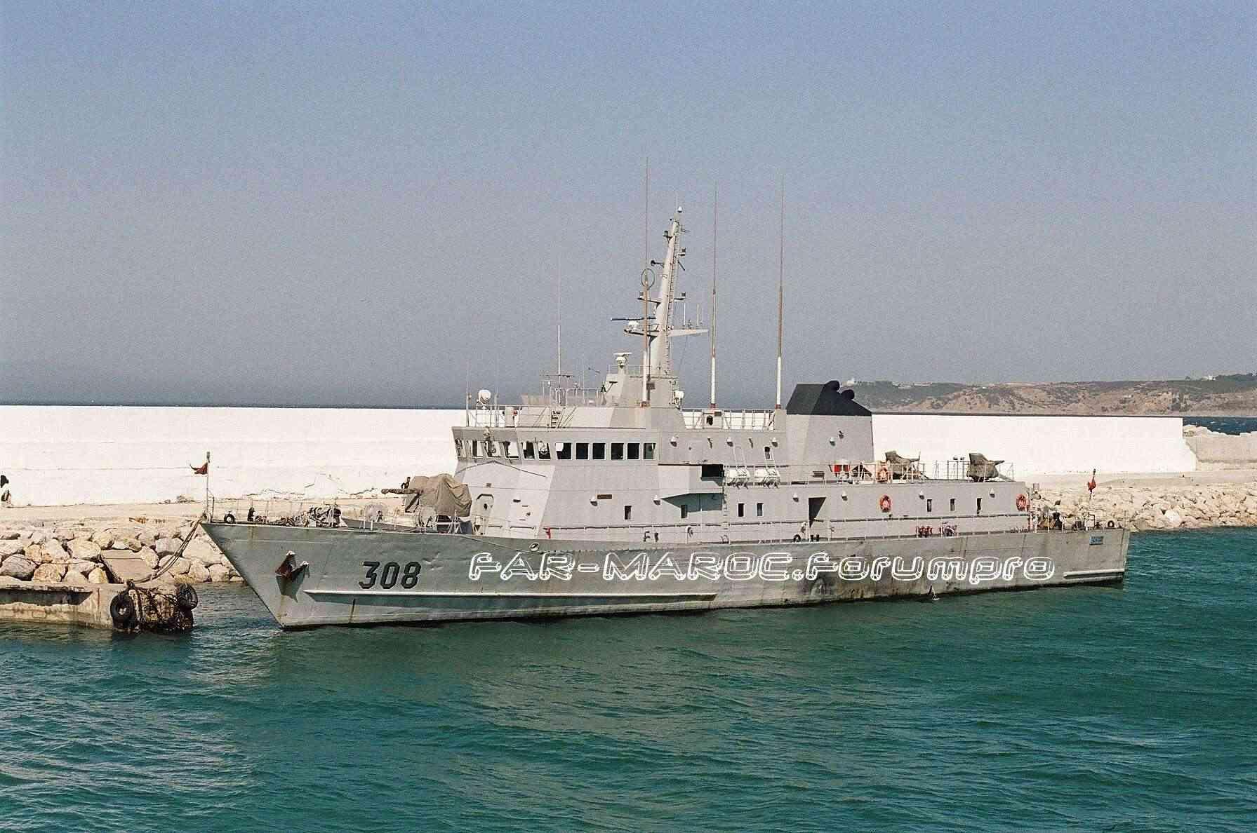 Royal Moroccan Navy Patrol Boats / Patrouilleurs de la Marine Marocaine Marroc10