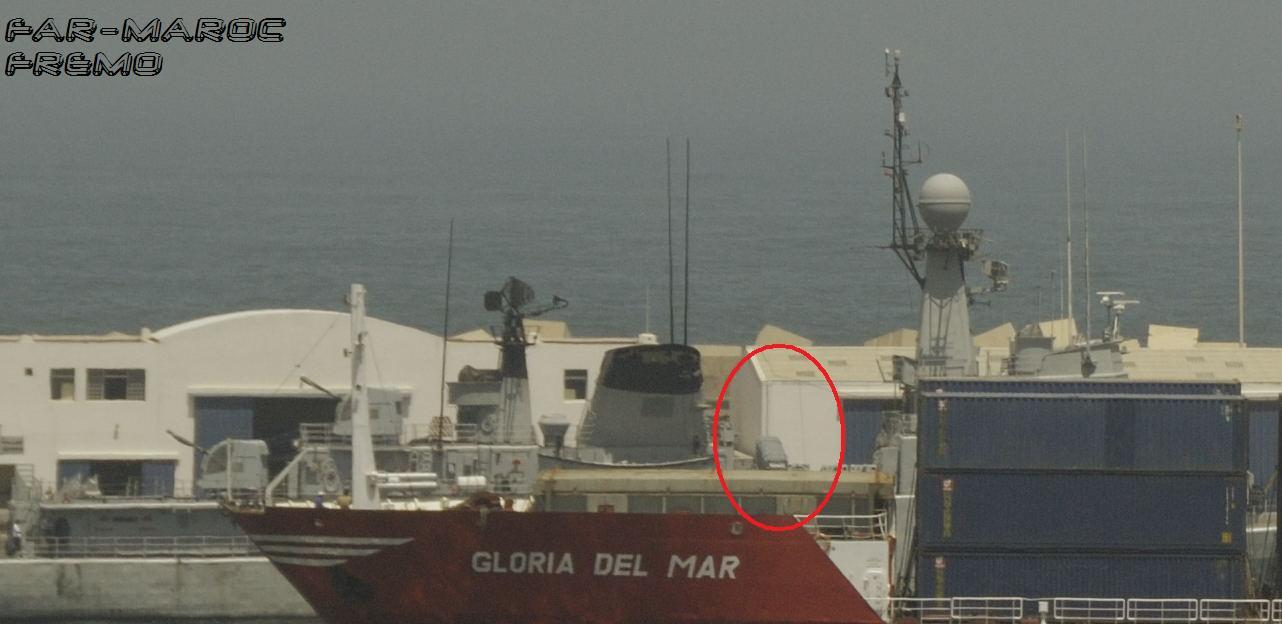Royal Moroccan Navy Descubierta Frigate / Patrouilleur Océanique Lt Cl Errahmani - Bâtiment École Mmexo10