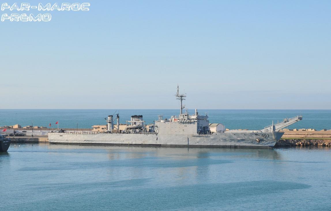 Royal Moroccan Navy Newport class / Sidi Mohammed Ben Abdellah ( 407 ) ( Inactive ) Sa10