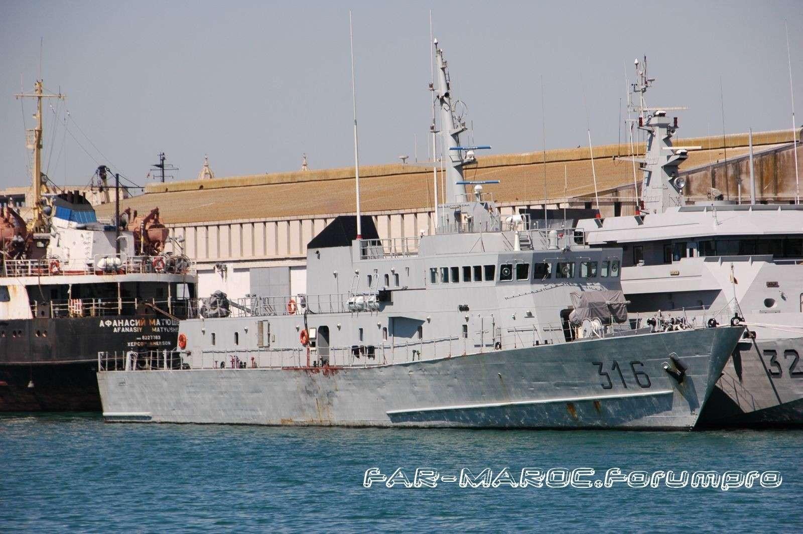 Royal Moroccan Navy Patrol Boats / Patrouilleurs de la Marine Marocaine Shipph11