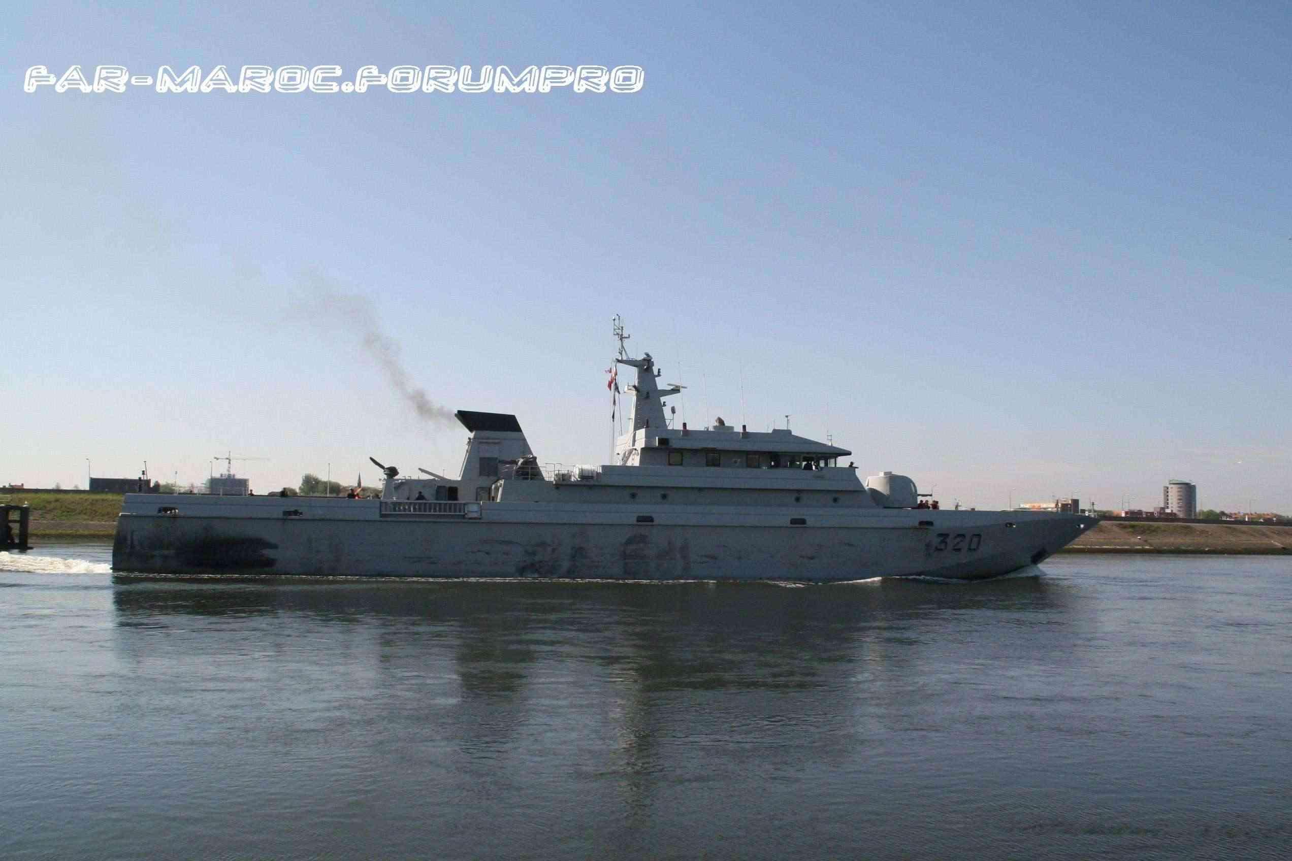 Royal Moroccan Navy Patrol Boats / Patrouilleurs de la Marine Marocaine - Page 2 Shipph13