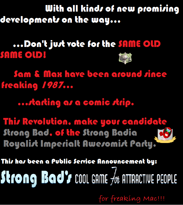 Strong Bad's Cool Game for Attractive People: For Freaking Mac!!! Prop710