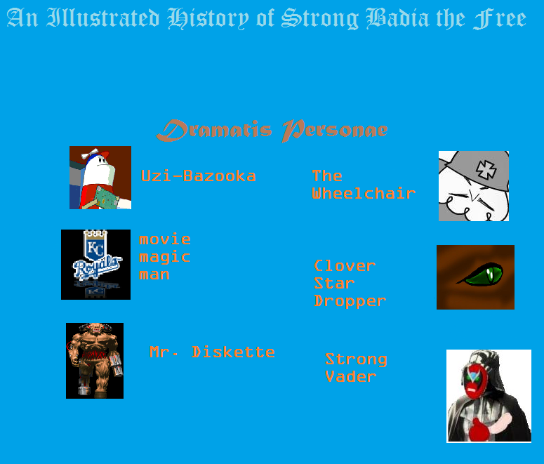 An Illustrated History of Strong Badia the Free Sbtf110
