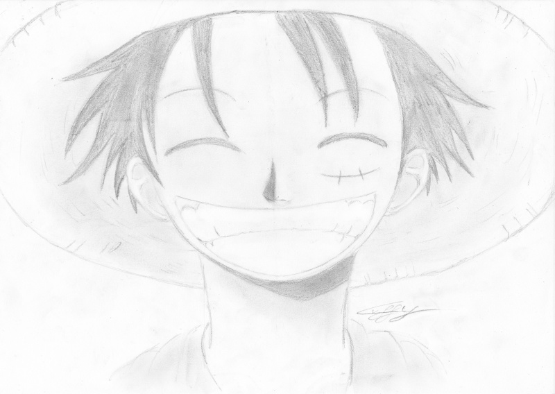 Tuto dessin dessiner luffy by law - Comment dessiner luffy ...