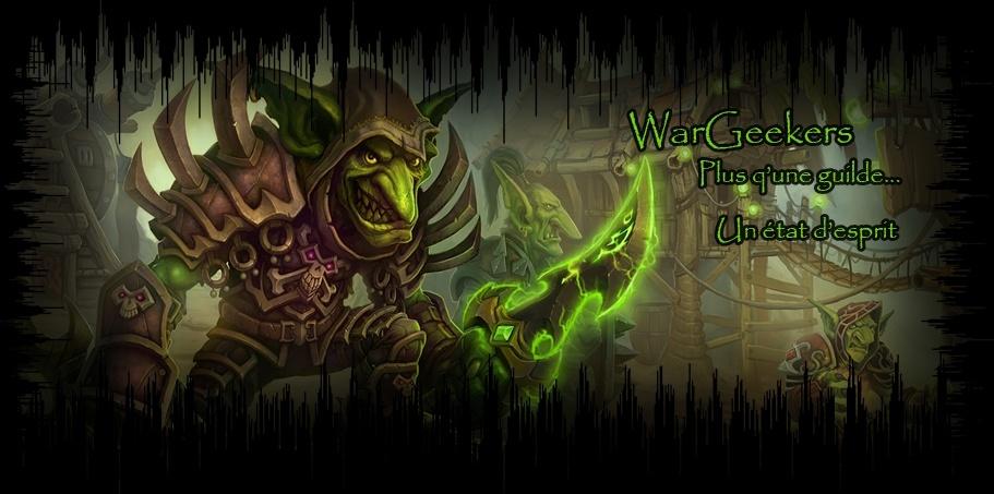 Le Forum des WarGeekers