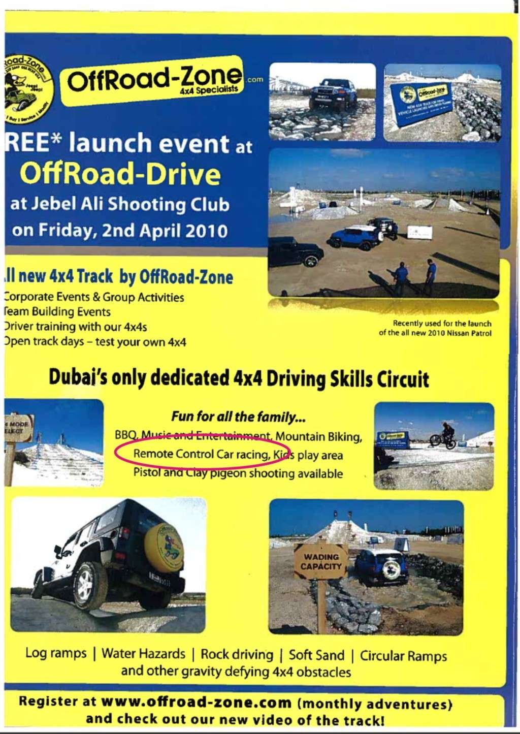 Offroad RC racing at Jebel Ali Shooting Club? Oz11