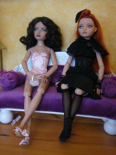 2 nouvelles filles à la maison: Eloowyne Nevermore et Aimée (Ellowyne OOAK) 17_nov12