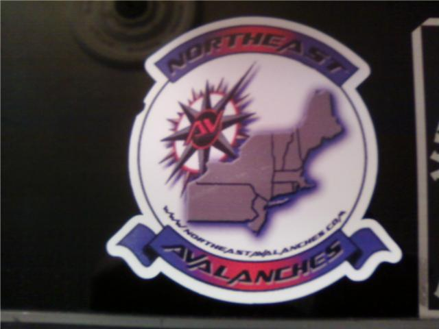 Northeast Avalanches Stickers Avalan10