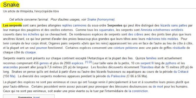 """Les points sur les """"i"""" - Page 4 Snake_10"""