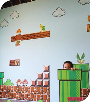 Stickers Nintendo Mario110
