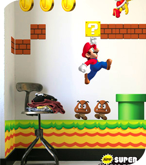 Stickers Nintendo Nsmb110