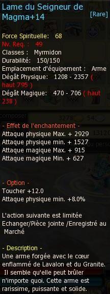 [MetalMeys] - Poudres d'amélioration pour armes et âmes Magma110