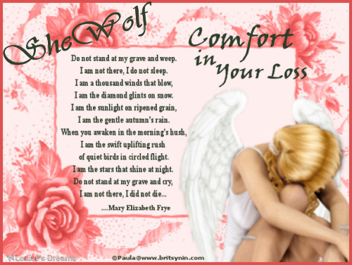 In loving Memory of Sue ( Shewolf ) Comfor10