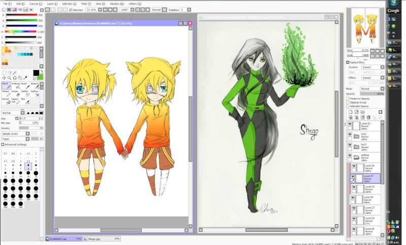 Art progress GO! Dzxg10