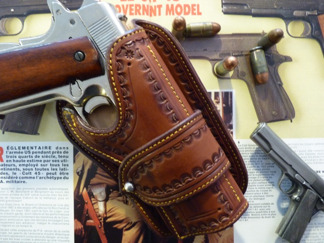 """""""The WILD BUNCH PIKE HOLSTER"""" by SLYE P1000746"""