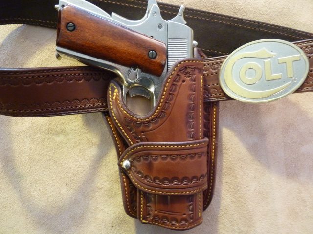 """""""The WILD BUNCH PIKE HOLSTER"""" by SLYE P1000750"""