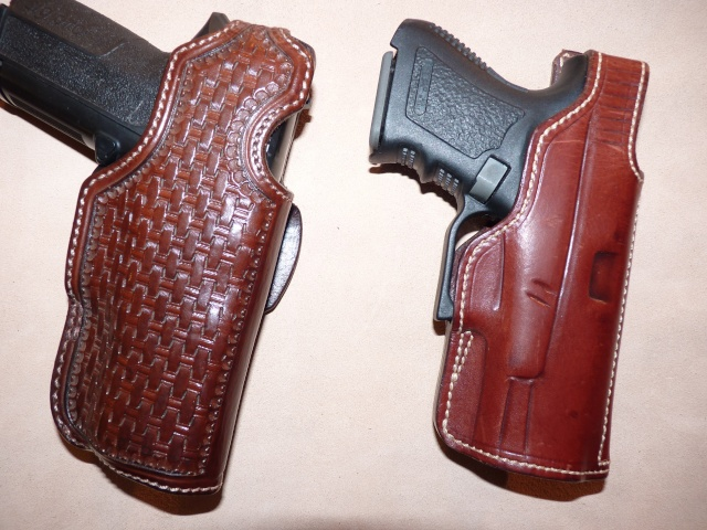 HOLSTERS REVOLVERS et AUTOS by SLYE P1020922