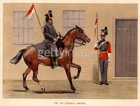 16th Queens Lancers Great Coat Victorian Era 16th_l10