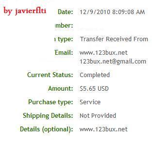 1º Pago de 123Bux [5.51$] First111