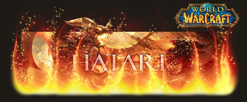 HATARI, la guilde wow alliance sur krasus