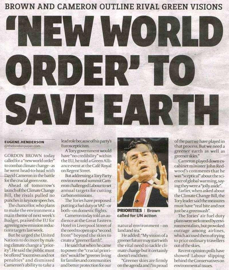 NWO pour New World Order: fantasme ou réalité ? New-wo10