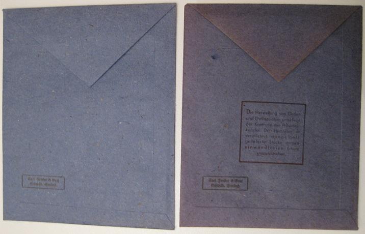 2 sachets pour EK2 Carl Forster & Graf Cf0210