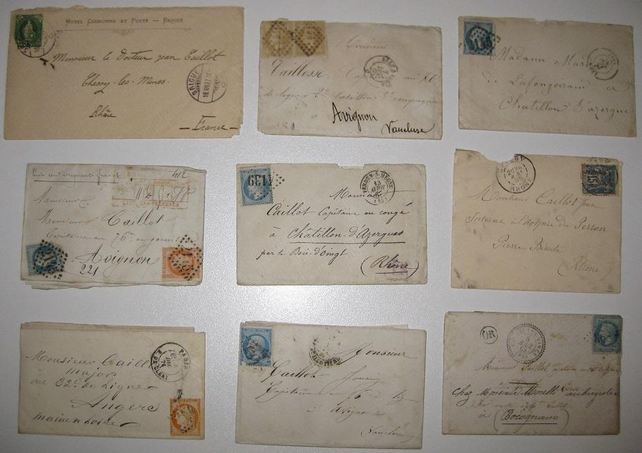 Lot de courriers fin 19e pour estimation et vente Lettre10