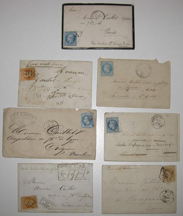 Lot de courriers fin 19e pour estimation et vente Lettre11