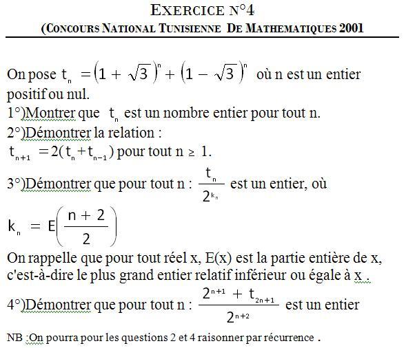 Exercice 4(concours 2001) 211
