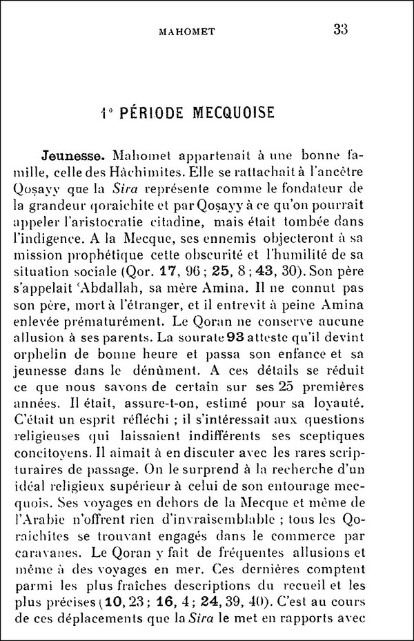 L'Islam par H. LAMMENS (extraits) 210