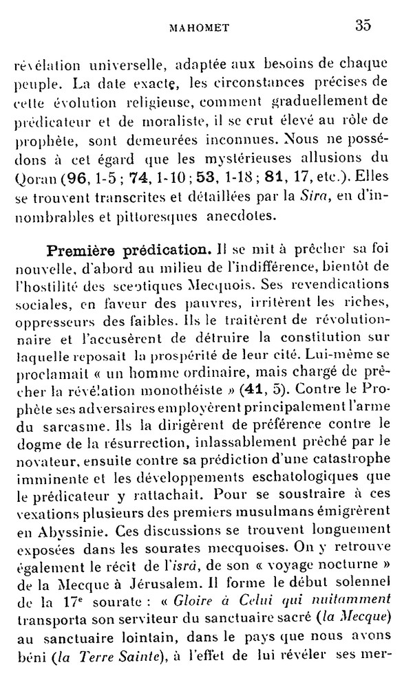 L'Islam par H. LAMMENS (extraits) 410