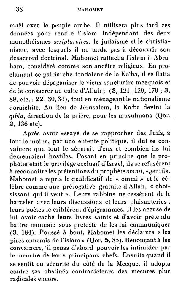 L'Islam par H. LAMMENS (extraits) 710