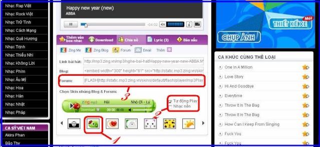 Cách post nhạc từ mp3.zing.vn lên forum Image018