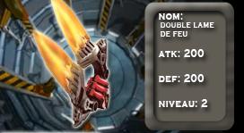 marchant d'arme Double10