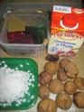 bombe de noel aux fruits et poudre d'amande Cercy_12