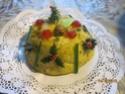 bombe de noel aux fruits et poudre d'amande Cercy_24