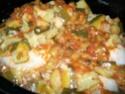 cuisses de poulets,courgettes cuisinées Gratin13