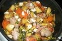 légumes aux saucisses de Toulouse  Lagume10