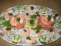 médaillons de saumon aux crevettes Madail11