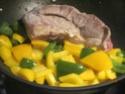 pointe de porc sans os aux légumes variés Pointe16