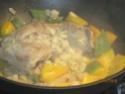 pointe de porc sans os aux légumes variés Pointe17