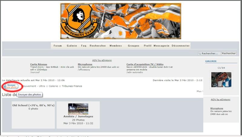 Tutoriel : Upload de Photos pour le site Step210