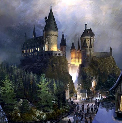 Entrada Principal de Hogwarts Entrad10