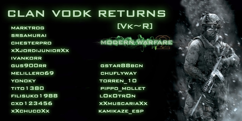 Clan VODK Returns [Vk~R]