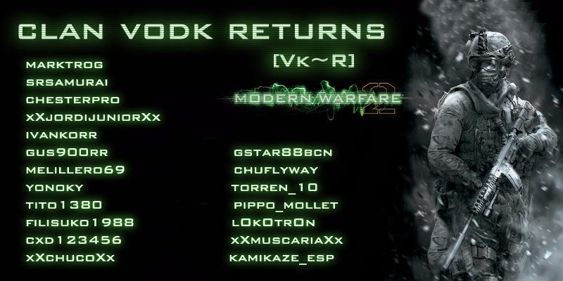 Clan VODK Returns [Vk~R]